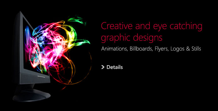 Creative and eye catching graphic designs